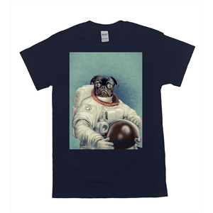 'The Astronaut' Personalized Pet T-Shirt