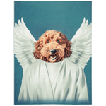 'The Angel' Personalized Pet Blanket