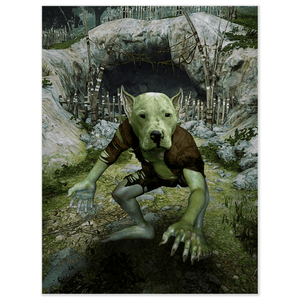 'The Goblin' Personalized Pet Poster