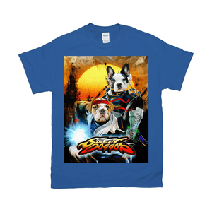 'Street Doggos 2' Personalized 2 Pet T-Shirt