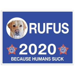 'Your Dog 2020' Personalized Dog Poster