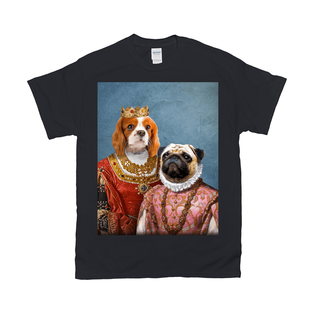 'Queen And Archduchess' Personalized 2 Pet T-Shirt