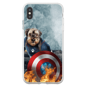 'Captain Doggmerica' Personalized Phone Case
