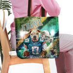 'Miami Doggos' Personalized Tote Bag