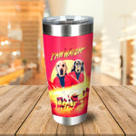 Paw Watch Personalized 2 Pet Tumbler