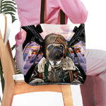 'The Pilot' Personalized Tote Bag