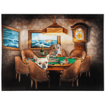 'The Poker Players' Personalized 2 Pet Blanket