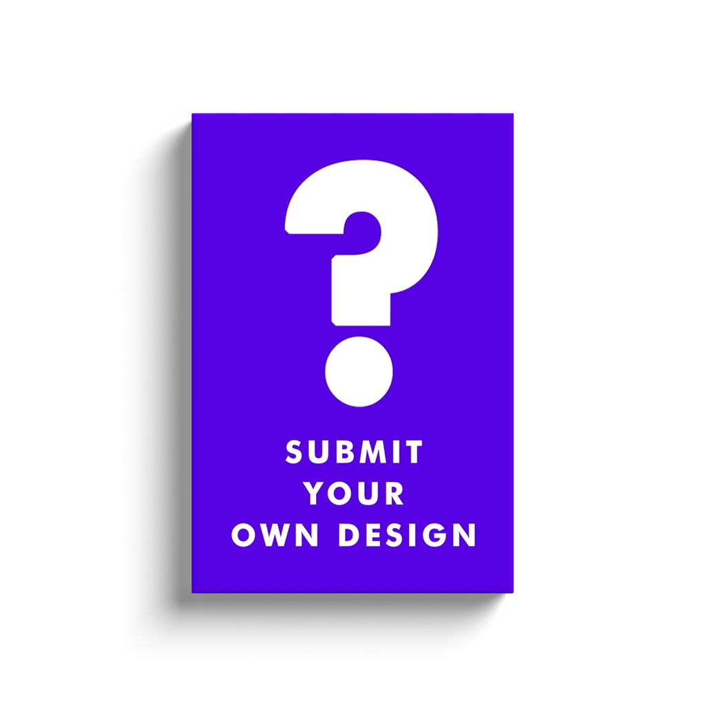 Submit Your Own Design: Canvas