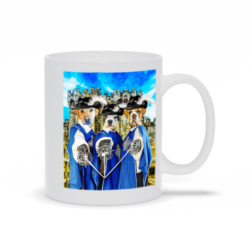 '3 Musketeers' Personalized 3 Pet Mug