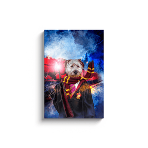 'Harry Dogger' Personalized Pet Canvas
