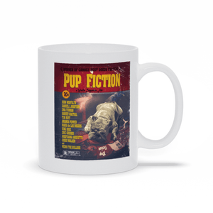 Pup Fiction Custom Pet Mug