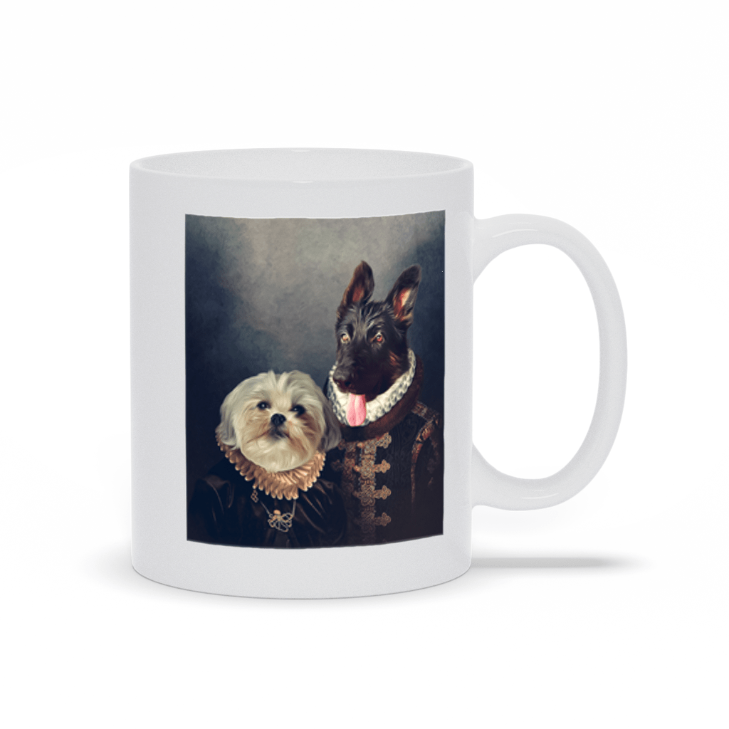 'Duke and Duchess' Custom 2 Pets Mug