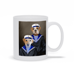 'The Sailors' Custom 2 Pets Mug