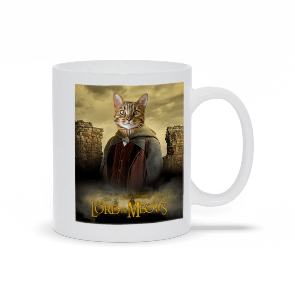 'Lord Of The Meows' Personalized Pet Mug