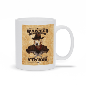'The Wanted' Custom Pet Mug