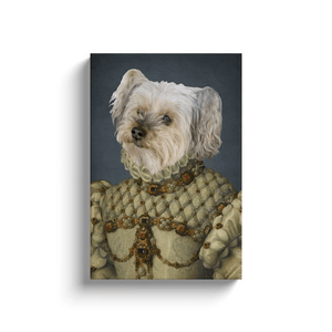The Princess: Personalized Pet Canvas