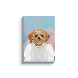 'The Bailarina' Personalized Pet Canvas