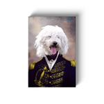 The Admiral: Personalized Pet Canvas