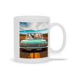'The Lowrider' Personalized 4 Pet Mug