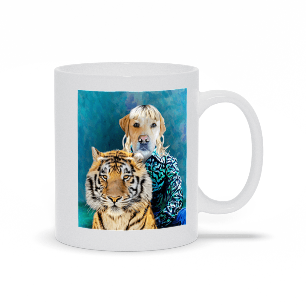 'Woofer King' Custom Pet Mug