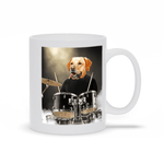 'The Drummer' Personalized Pet Mug