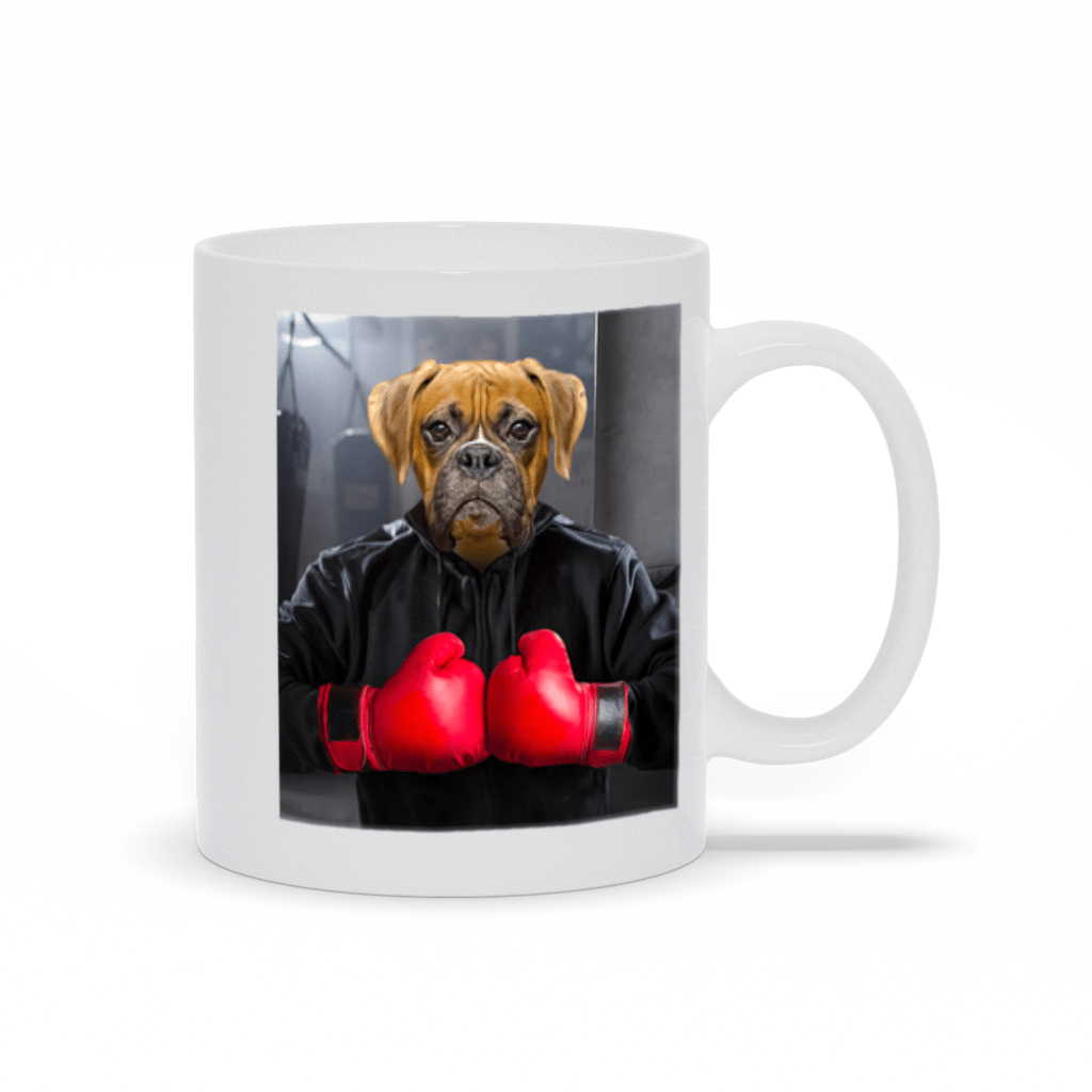 'The Boxer' Custom Pet Mug