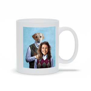 'Step Doggo & Human (Female)' Custom Mug