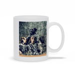 'The Army Veterans' Personalized 4 Pet Mug