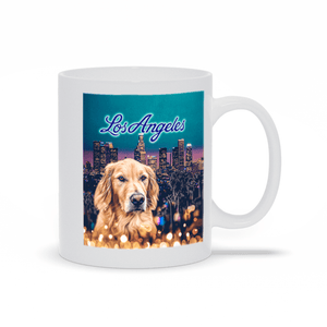 'Doggos of Los Angeles' Personalized Pet Mug