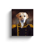 The Captain: Personalized Pet Canvas