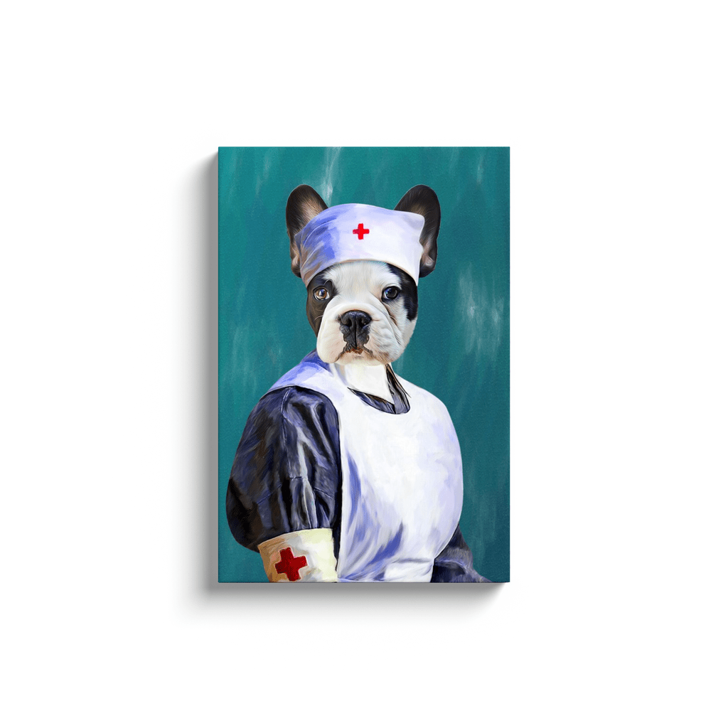 'The Nurse' Personalized Pet Canvas