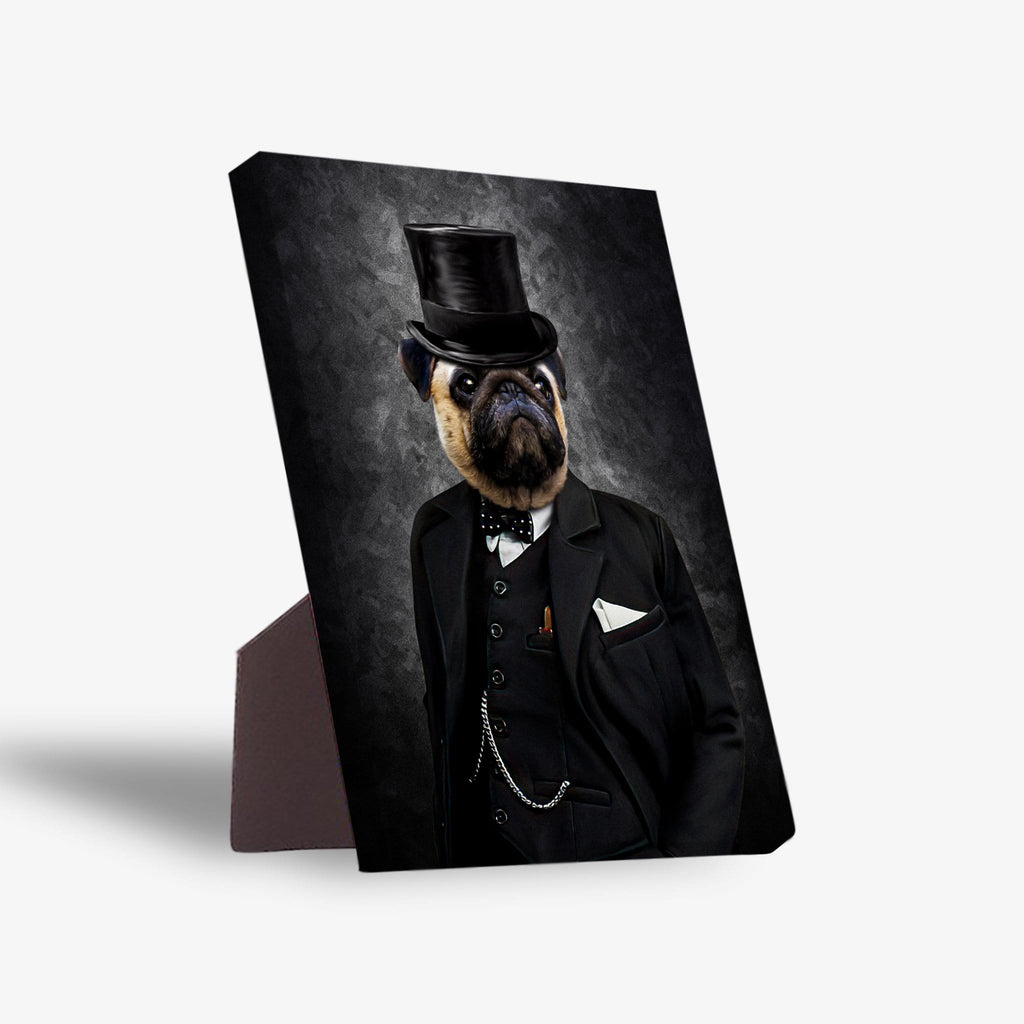 'The Winston' Personalized Pet Standing Canvas