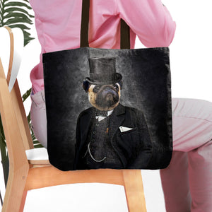 'The Winston' Personalized Tote Bag