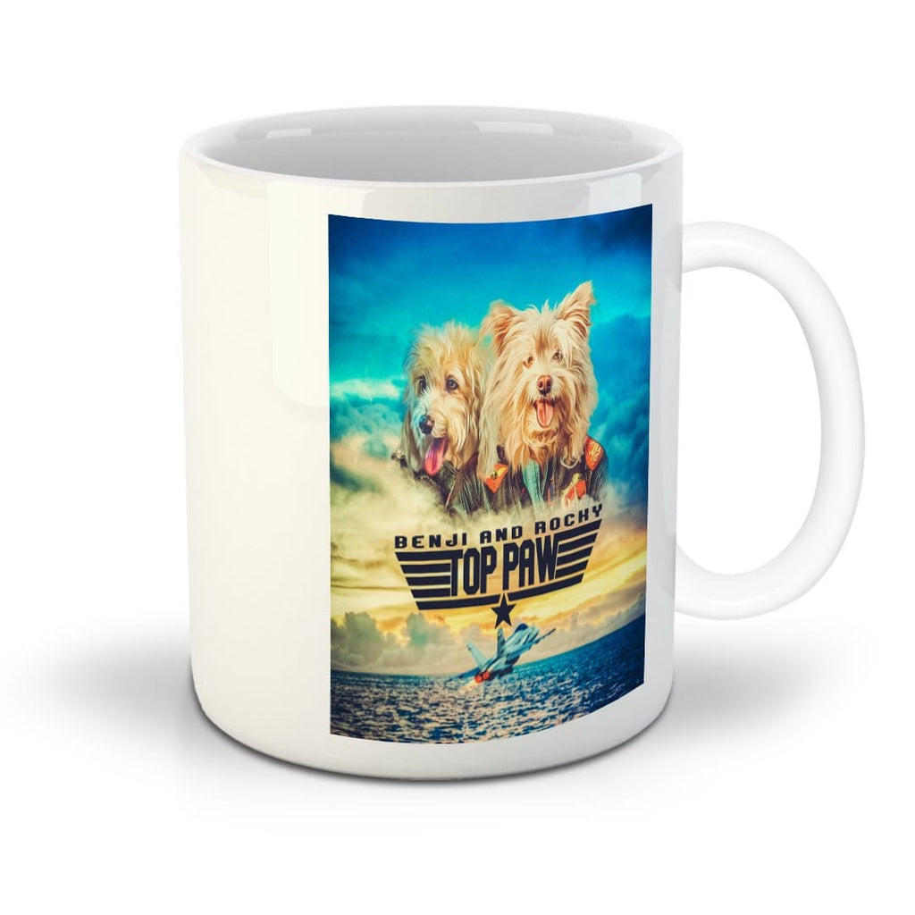 Top Paw: Personalized 2 Pet Mug