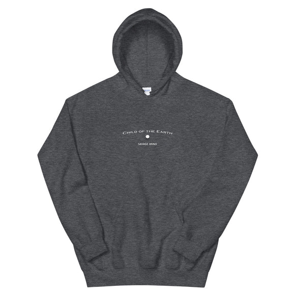 Child of the Earth Hoodie - White Text