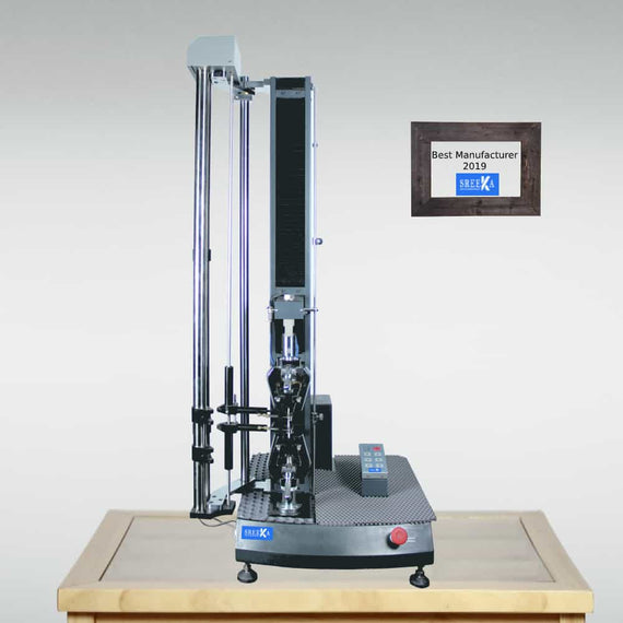 SreeKa Single column tensile testing machine