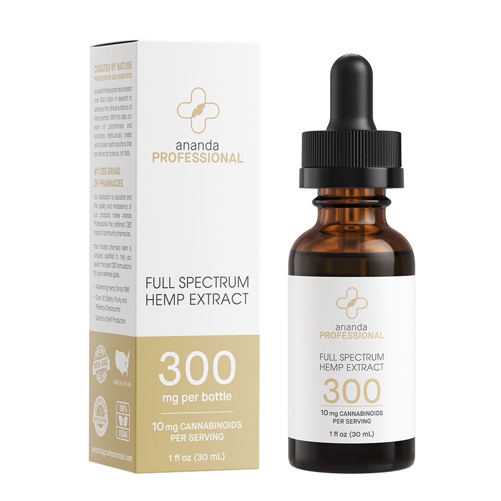 300mg Full Spectrum Tincture
