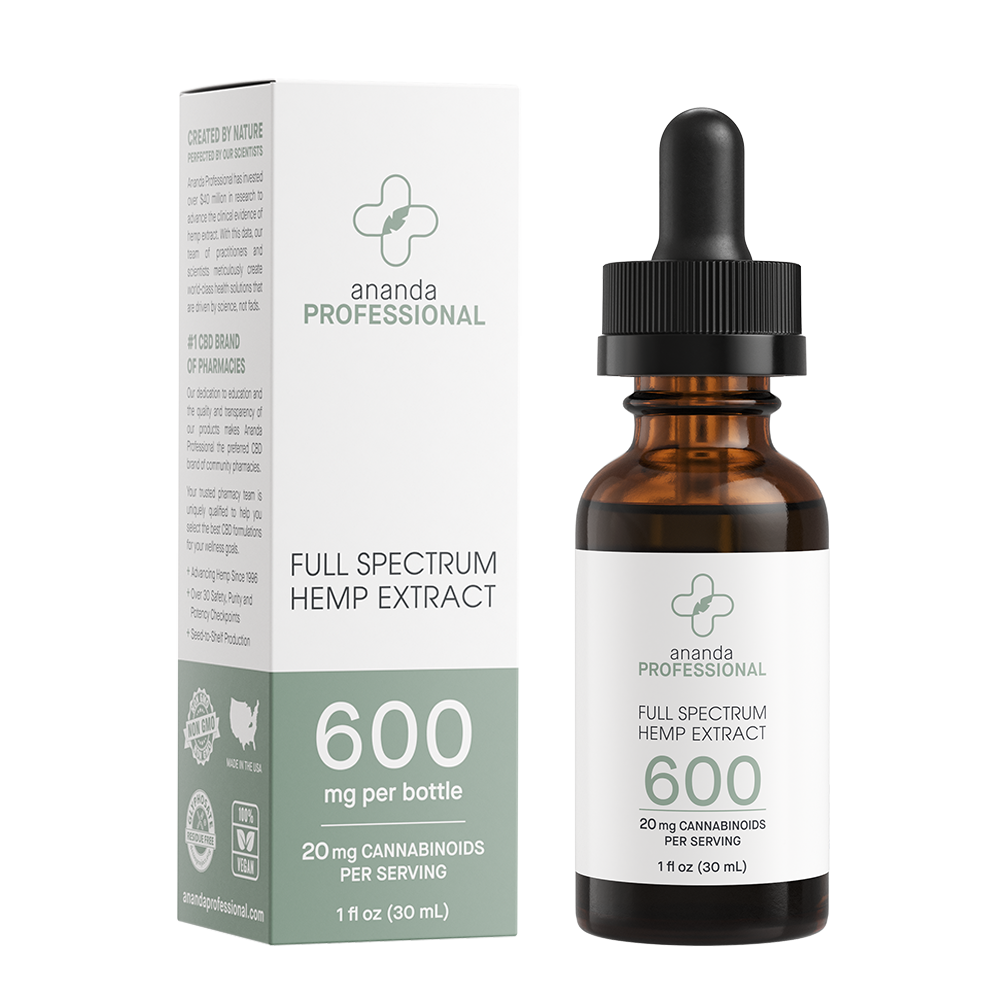 600mg Full Spectrum Tincture