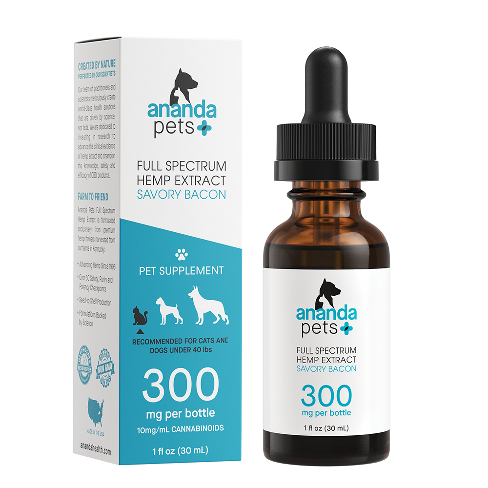 Ananda Pets 300mg Tincture - Bacon