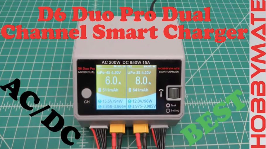 Hobbymate D6 Duo Pro AC/DC Smart Charger