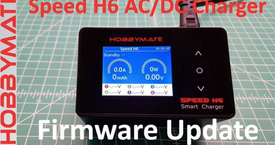 Hobbymate Speed H6 Charger Firmware Update.