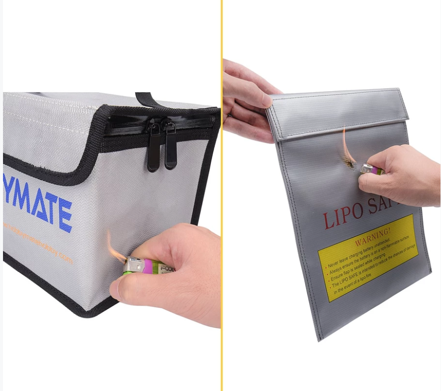 HOBBYMATE LIPO BATTERY SAFE BAG FIREPROOF