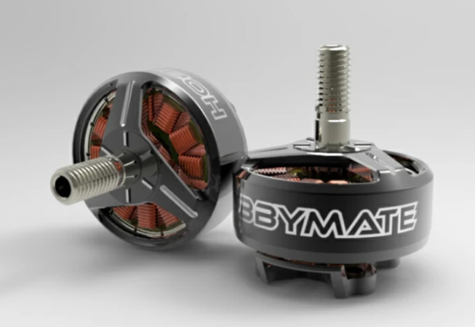Hobbymate 2207+ FPV Drone Motor 2200Kv for both 4S 6S power