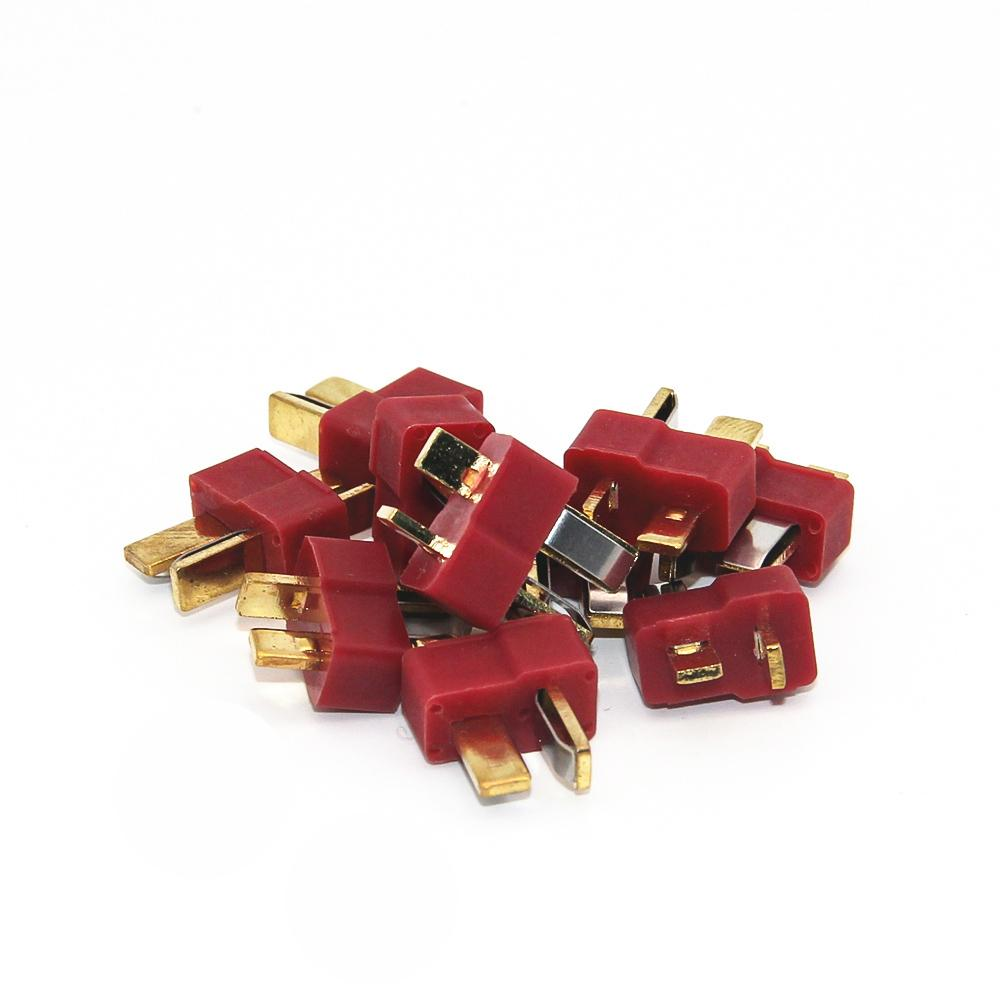10 pairs T Plug Male & Female Deans Connectors Style for RC LiPo Battery