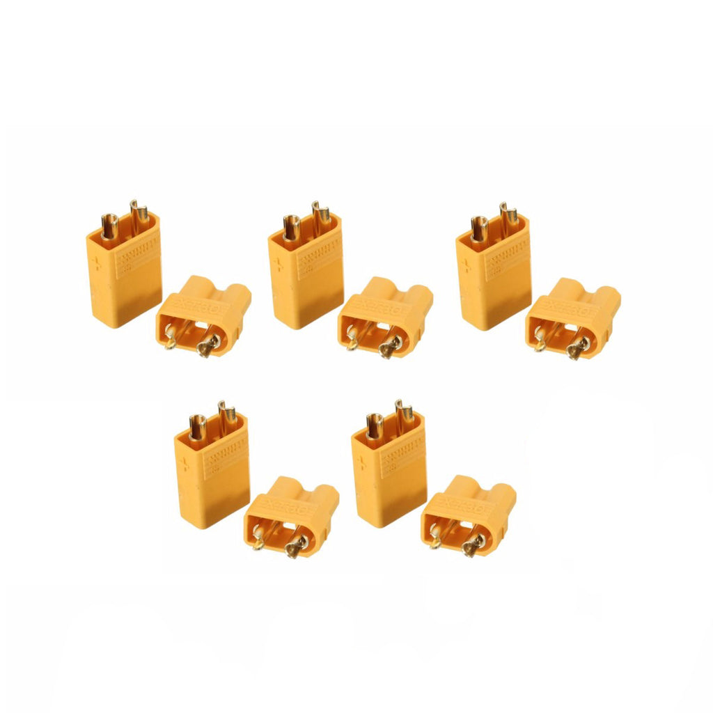 1 pair XT30 Male Female Bullet Connectors Plugs for RC Lipo Battery