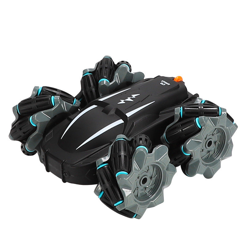 1/18 Remote Control High Speed 360 Rotation 4WD Drift Stunt RC Car Light Children Toy Climbing Off-Road Vehicle