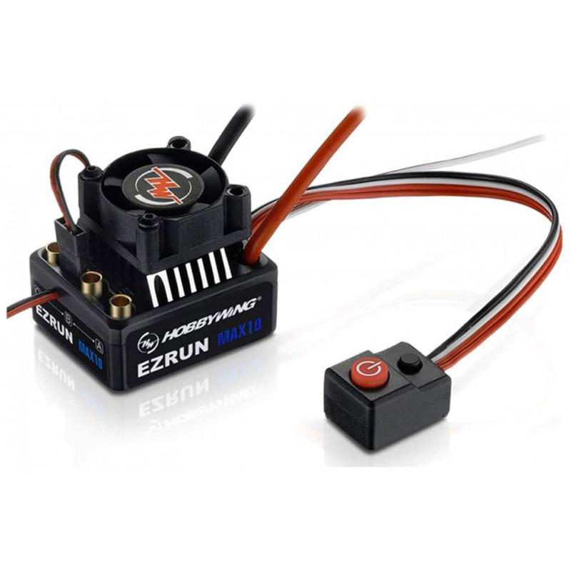 Hobbywing Ezrun Max10 60/450A Sensorless/Sensored ESC Rc Car, Rc Buggy Brushless Speed Controller,  built-in switch mode BEC
