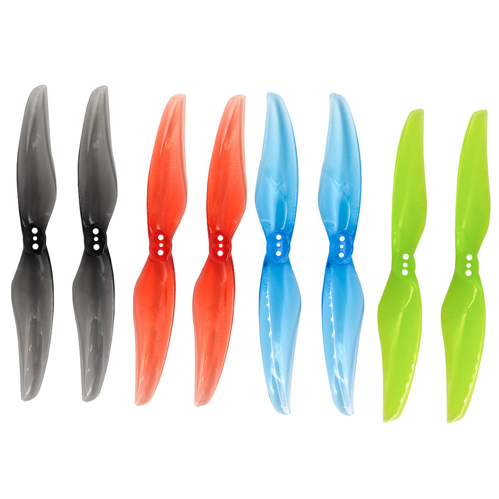 4 pairs Gemfan 4024 4 inch Propeller 2 Blade 3 Hole 1.5 mm 4 x 2.4 CW CCW Racing Propeller for Mini FPV Brushless Motor