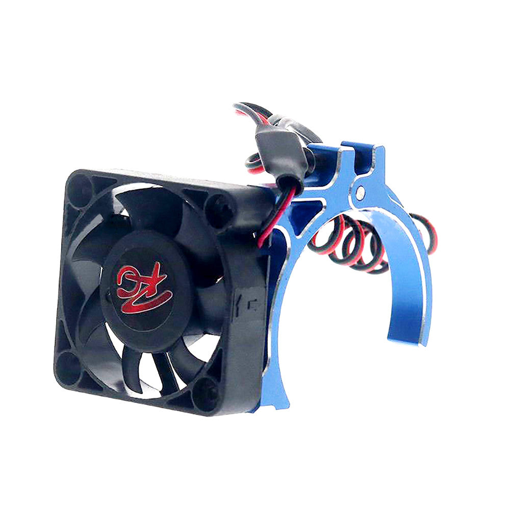 42MM Motor Temperature Control Cooling Fan Replacement Motor Heatsink for TRX-4 SCX10 E-REVO UDR RC Car Parts