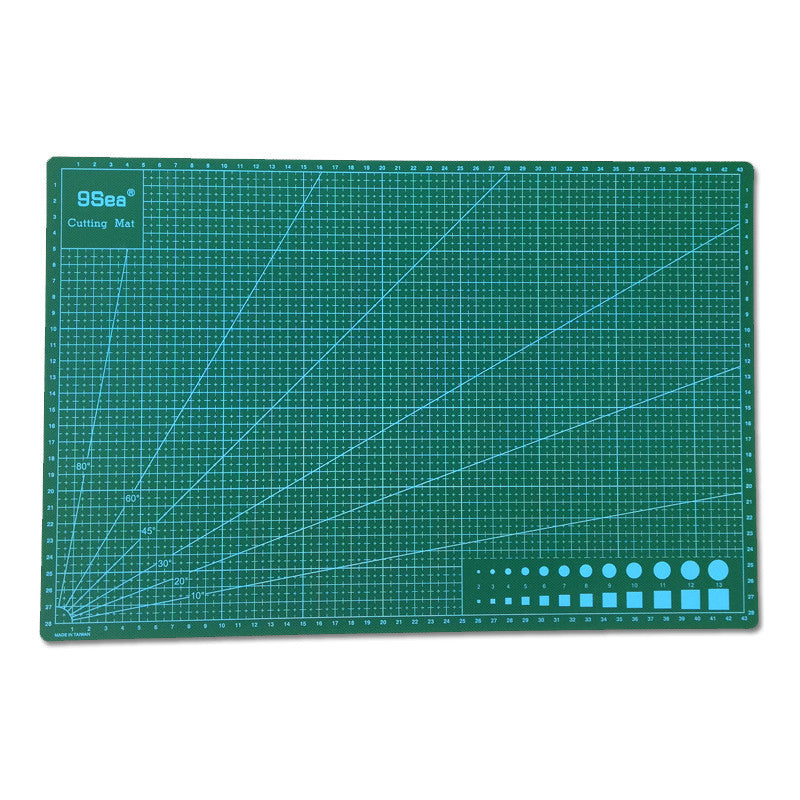 9Sea A3 Cutting Mat for Handcraft Front Back Double Printed
